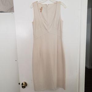 Michael Kors Ivory Sheath Dress